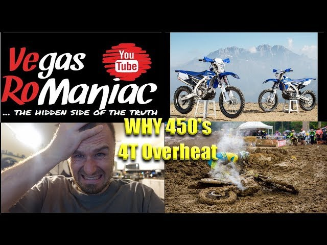 Subscribers ASKED, WHY I ride a 250? and not a 450? Big BORE 4T Dirt bikes always OVERHEAT