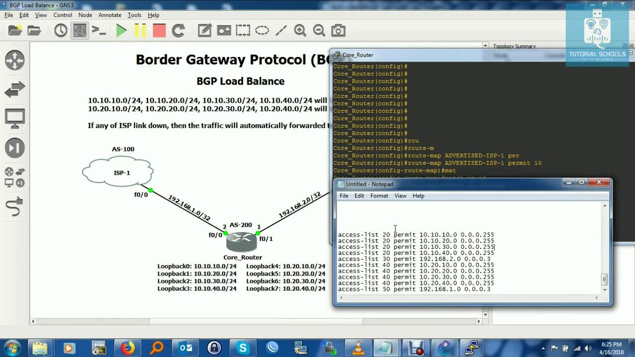 [BGP] Configure BGP Conditional Load Balancing Between two ISP