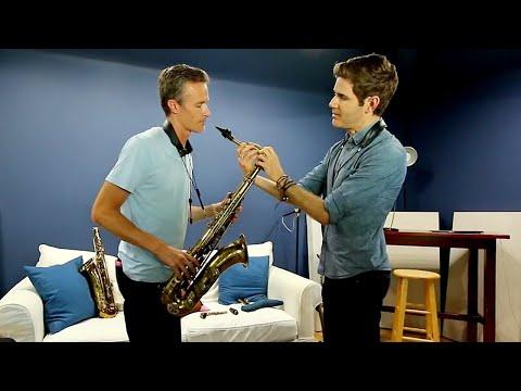 Ben Wendel and Bob Reynolds compare vintage Selmer Saxophones // VLOG #122