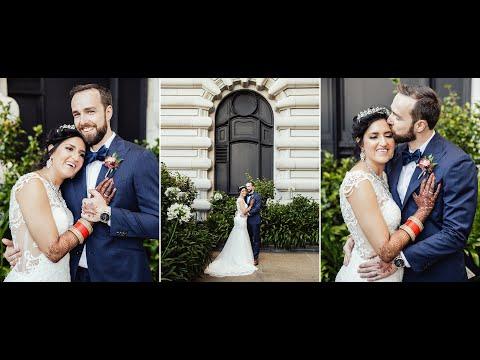 Multicultural Wedding at Fairmont San Francisco and San Jose Gurdwara – Tobias & Poornima