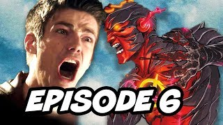 The Flash Season 3 Episode 6 - TOP 10 The Flash vs Savitar WTF and Easter Eggs
