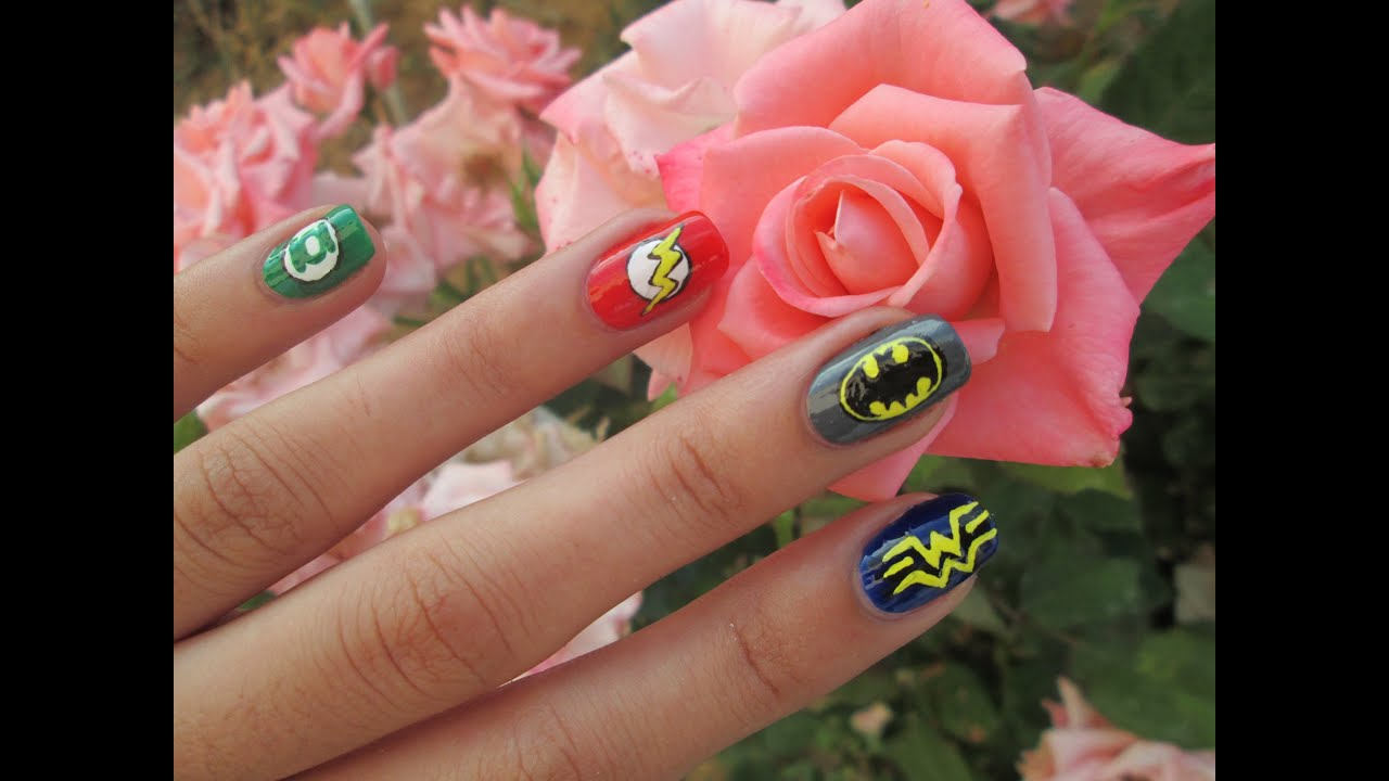Generous Chanel Nail Polish Tiny Little Mermaid Nail Art Flat Painted Nail Art Coke Nail Polish Young Nails With Nail Art GreenHow To Get Rid Of Foot Nail Fungus DIY   Easy DC Super Heroes Nail Art   YouTube