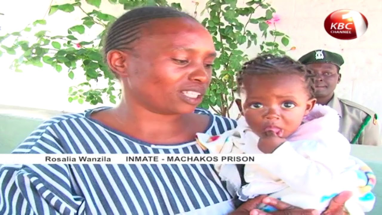 Inmate mothers cry foul over lack of children basic necessities