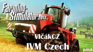 Farming Simulátor 2013→Letsplay→#1→Úvod do hry, sklizeň [VlčákCZ]