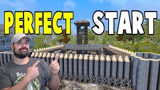 Perfect Start | WotW | 7 Days To Die Alpha 16 Let