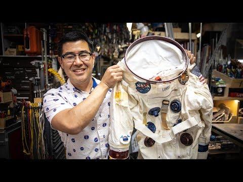 Inside Adam Savage's Cave: Ryan Nagata's First Spacesuit!