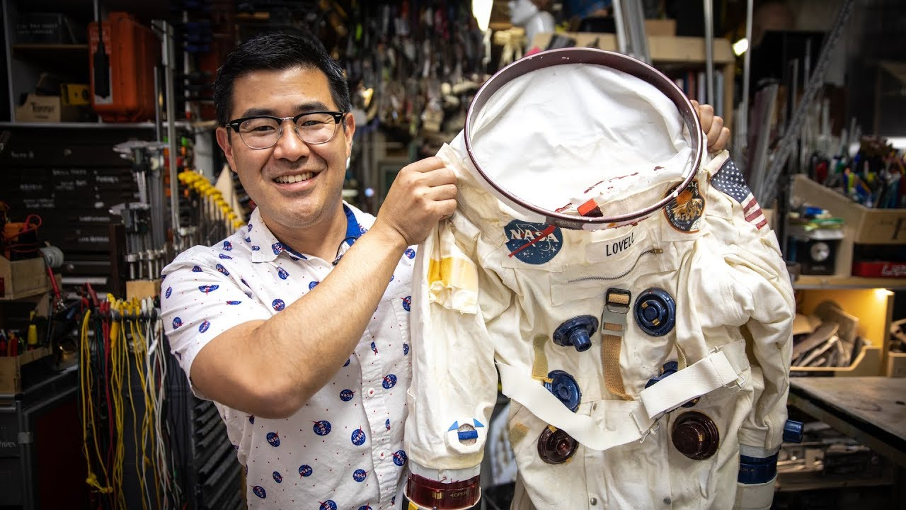 Inside Adam Savage's Cave: Ryan Nagata's First Spacesuit!