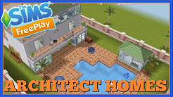 Sims Freeplay | Architect Homes Designs - YouTube