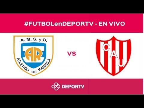 #FUTBOLenDEPORTV - Atlético de Rafaela vs Unión de Santa Fe - Partido completo