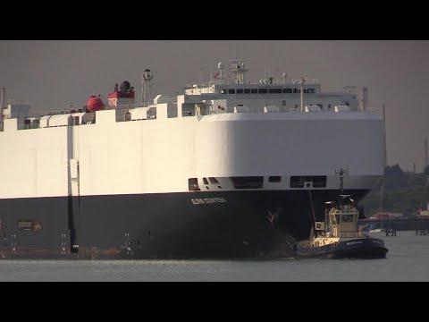 GLOVIS COUNTESS - VEHICLES CARRIER OCEAN DOCK ARRIVAL 08/08/