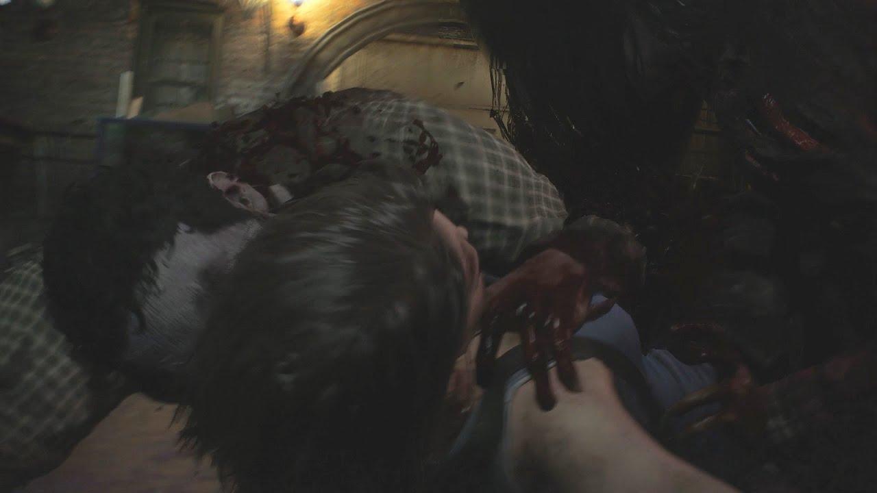 Resident Evil 3 Remake Jill Valentine Zombie Woman Death Scenes (Japanese)