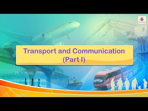 Transport And Communication | Social Studies For Kids | Periwinkle