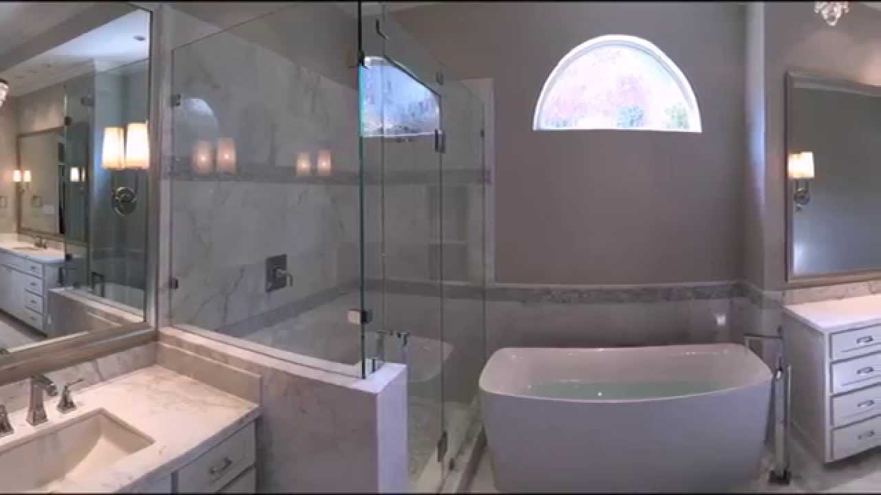 Master Bathroom Remodels Before And After master bath remodeling before and after in plano texas - youtube