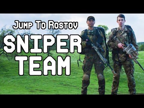 Milsim West Jump To Rostov: Sniper Team (ASG M40A5 Sniper Rifle, TM VSR-10, ATN X-Sight 2 HD)