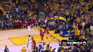 4th Quarter, One Box Video: Golden State Warriors vs. Houston Rockets
