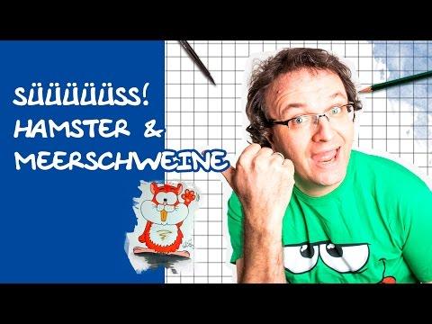 Comics zeichnen mit Tobi Wagner – HAMSTER und MEERSCHWEINE