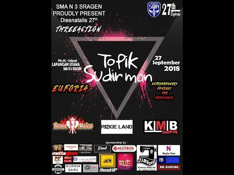 LIVE STREAMING KMB// Rastamaica//Topik Sudirman// DJ Risky // HUT SMA N 3 Sragen 27 //Sempulur Video