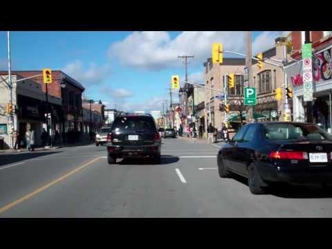 Street Tour Test:  The Glebe District, Bank Street, Ottawa, ON, Canada (850-450 block)