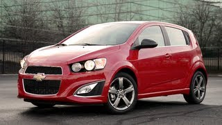 2013 Chevrolet Sonic RS - WR TV POV Test Drive