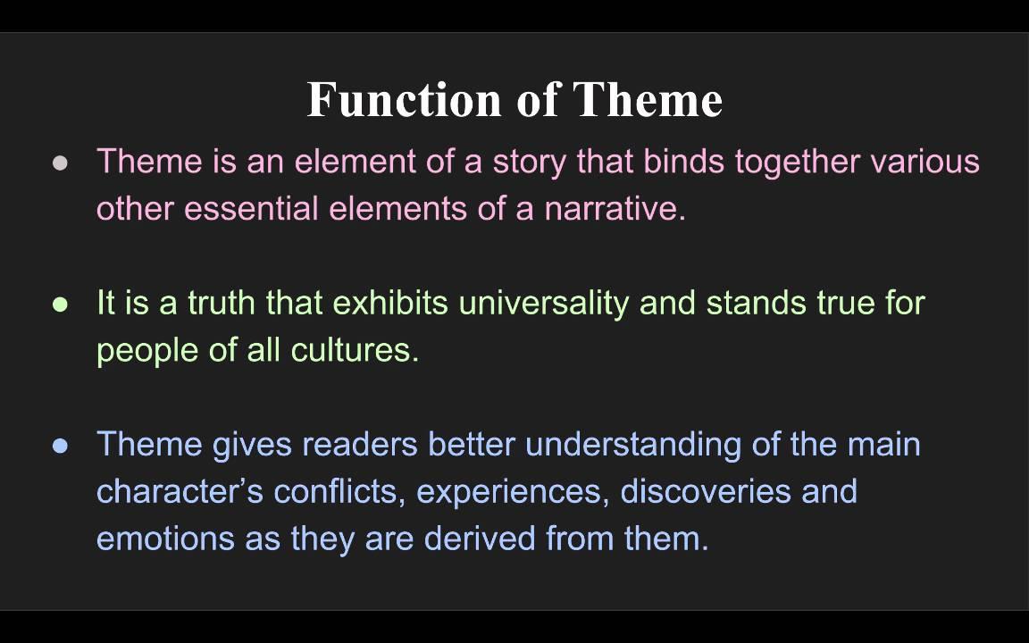 theme symbolism allegory theme symbolism allegory