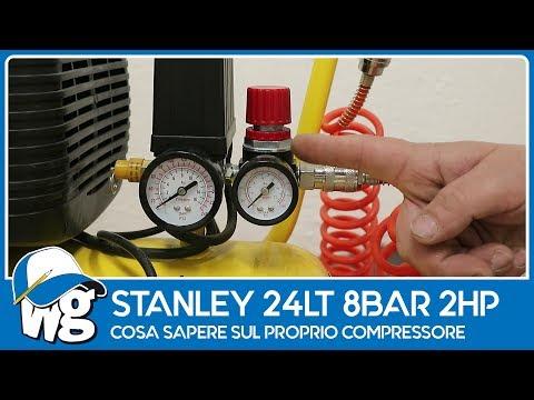 Stanley 24Lt 8Bar, cosa sapere sul proprio compressore