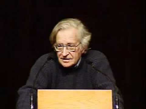 Noam Chomsky: The Militarization of Science and Space