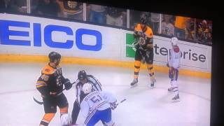 Brendan Gallagher Trips Zdeno Chara Just For Fun