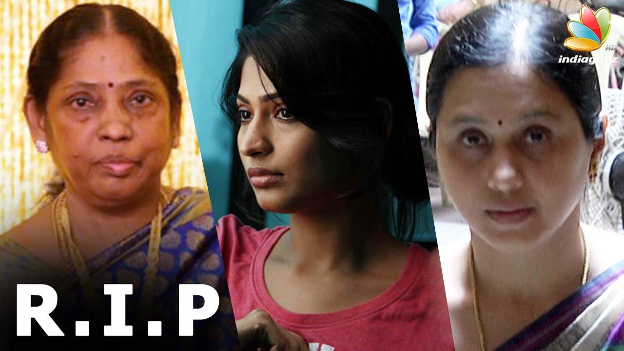 Download Actress Vijayalakshmi's mom passes away   Director Agathiyan's wife   Death Video