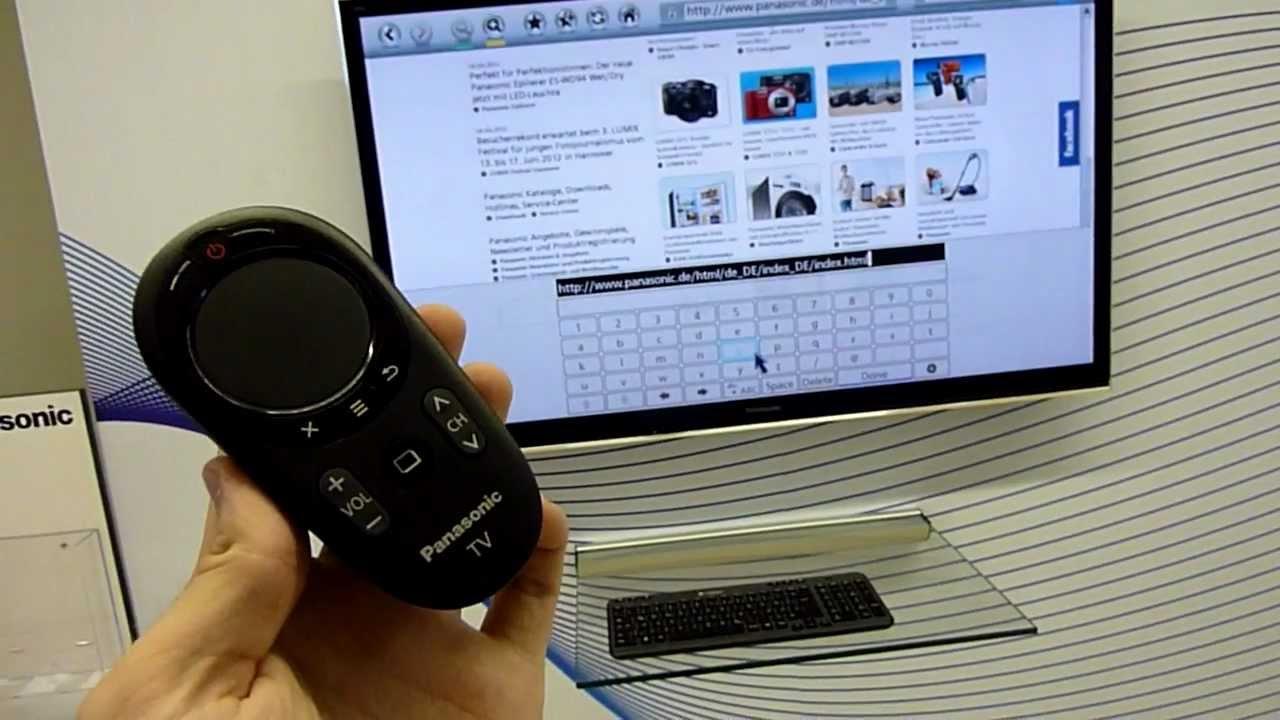 3 янв 2014. Ces 2014: тв-пульт samsung стал на 80% меньше, получив сенсорный. Из ключевых функций — нового «умного» пульта дистанционного управления. Несколько лет назад пульт panasonic viera touch remote.