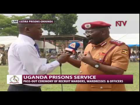UGANDA PRISONS SERVICE: Passout ceremony of recruit warders and officers