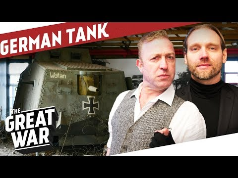 Download Youtube: Inside the German A7V WW1 Tank I THE GREAT WAR On The Road