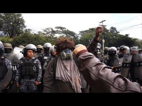 Honduran opposition protests despite leader Nasralla's defeat