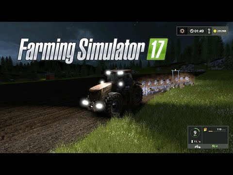 Farming Simulator 17--Private World #12!--GIGANTIC FIELD OF SOYBEANS!