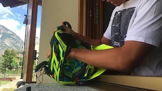 TUTORIAL: Come rimuove gli interni di caschi AIROH TWIST - How to remove AIROH TWIST helmet internal