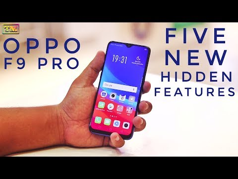 Oppo F9 Pro Hidden Features
