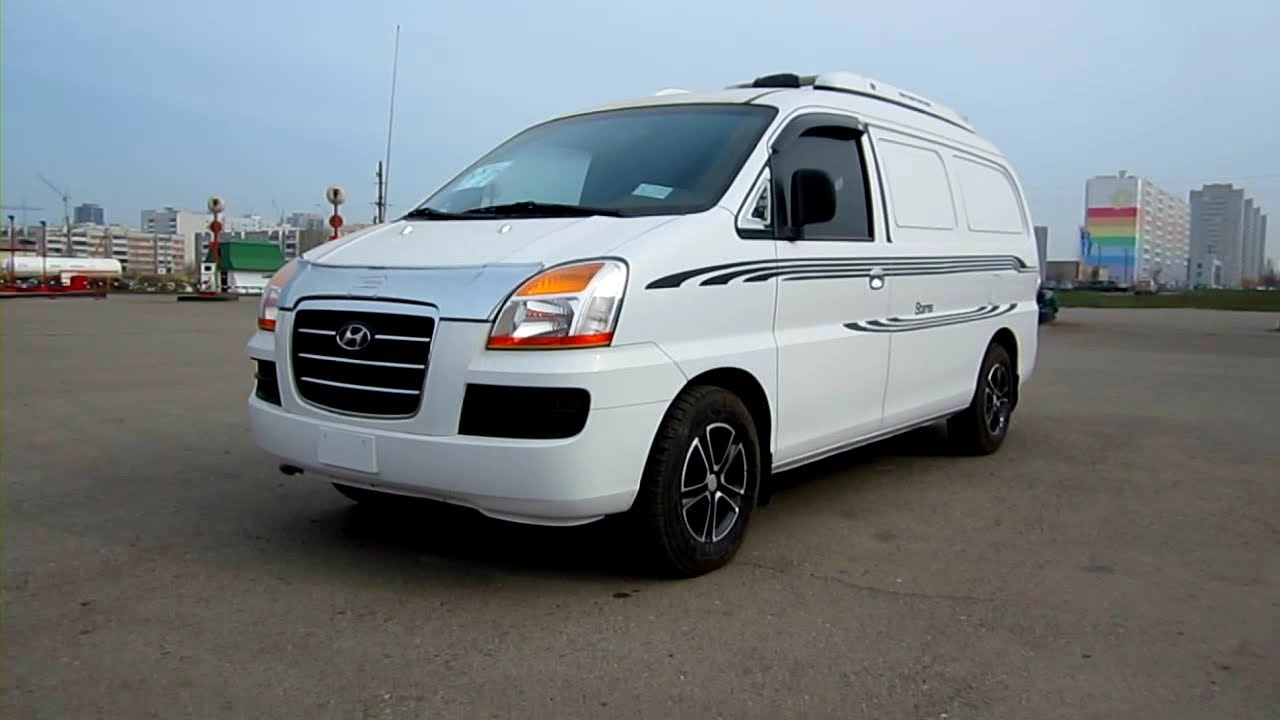 2007 Hyundai Starex GX. Start Up, Engine, And In Depth