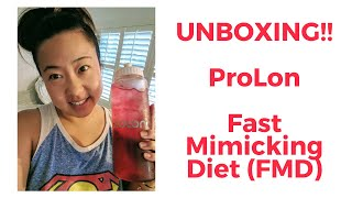 PROLON Fast Mimicking Diet UNBOXING!! 5 DAY FAST by Valter Longo, Ph.D. (USC)