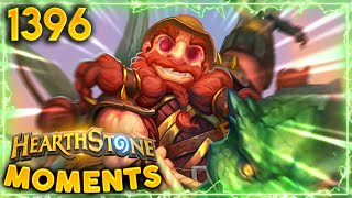 Brann Without His DINO IS STILL SCARY!!   Hearthstone Daily Moments Ep.1396