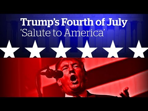 Trump's Fourth of July 'Salute to America' | Special live coverage