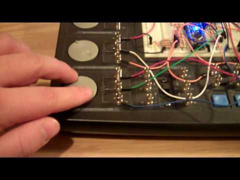 tetraStream - a continuous music-generating machine!