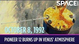 OTD in Space - Oct. 8: Pioneer 12 Burns Up in Venus