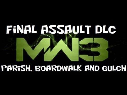 NEW MW3 Final Assault DLC - Parish, Boardwalk, Gulch (Sept 2012) |