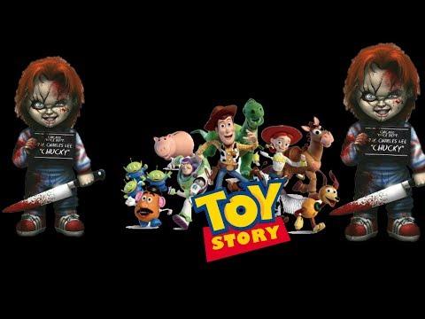 Chucky Se Mete En Toy Story /chucky Is Horror 1988