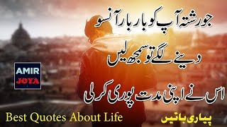 Amazing Quotations ||  Life Changing Quotes ||  Best Urdu Quotes