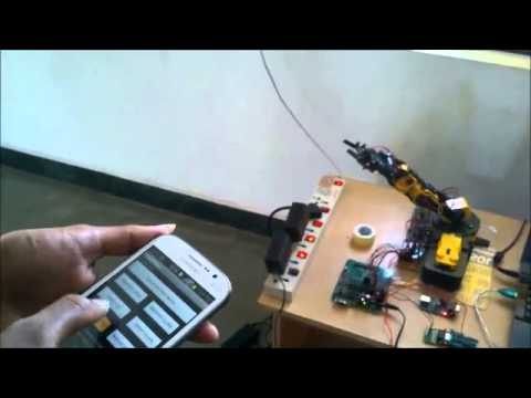 ROBOT CONTROLLED SYSTEM BY USING ANDROID PHONE   PG EMBEDDED SYSTEMS