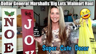 Dollar General/Big Lots/Walmart/Marshalls/TJMAXX/Haul~ So many cute items
