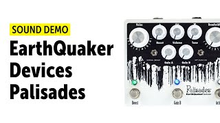 EarthQuaker Devices Palisades - Sound Demo (no talking)