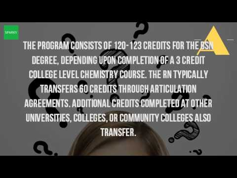 How Many Credits Do You Need To Get A Degree In Nursing?