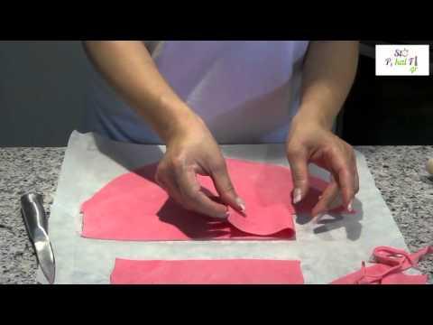 Διακόσμηση με ζαχαρόπαστα - Decorating with sugar paste - StoPikaiFi.g