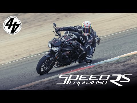 2018 Triumph Speed Triple RS Review